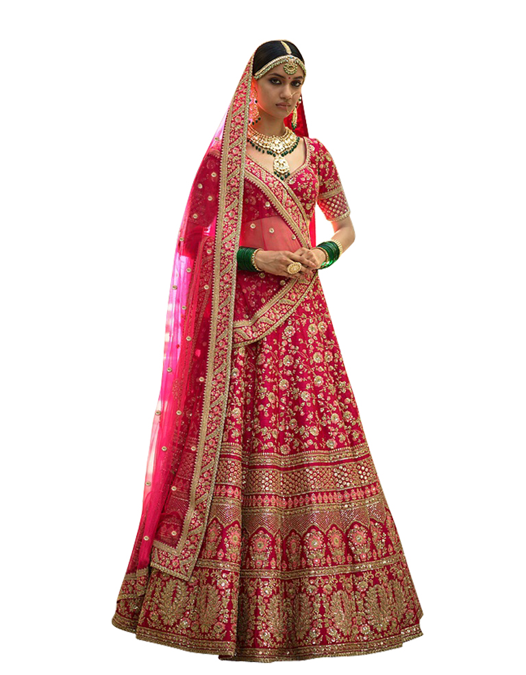The Three-Piece Lehenga