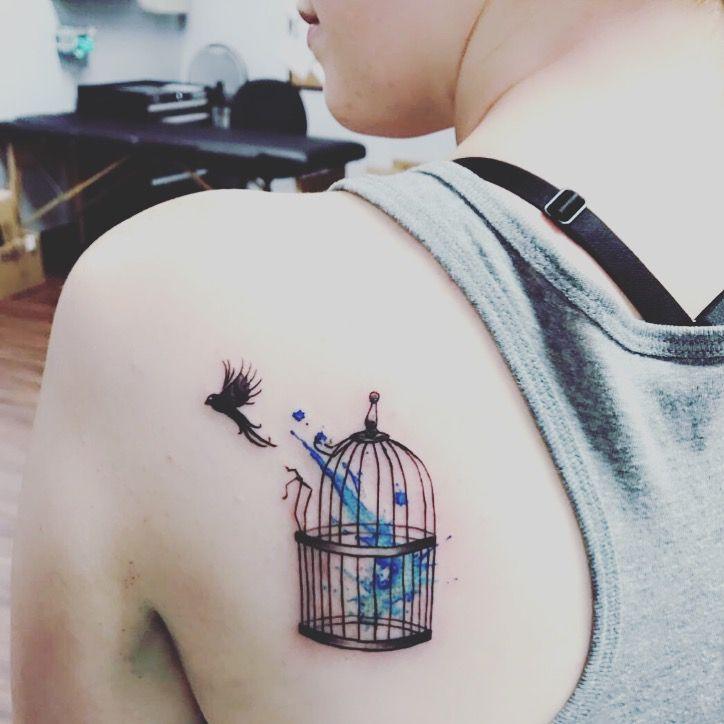 Freedom Rib Cage Tattoos