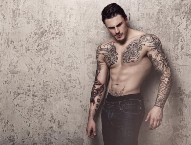 Marvelous Men's Rib Tattoo
