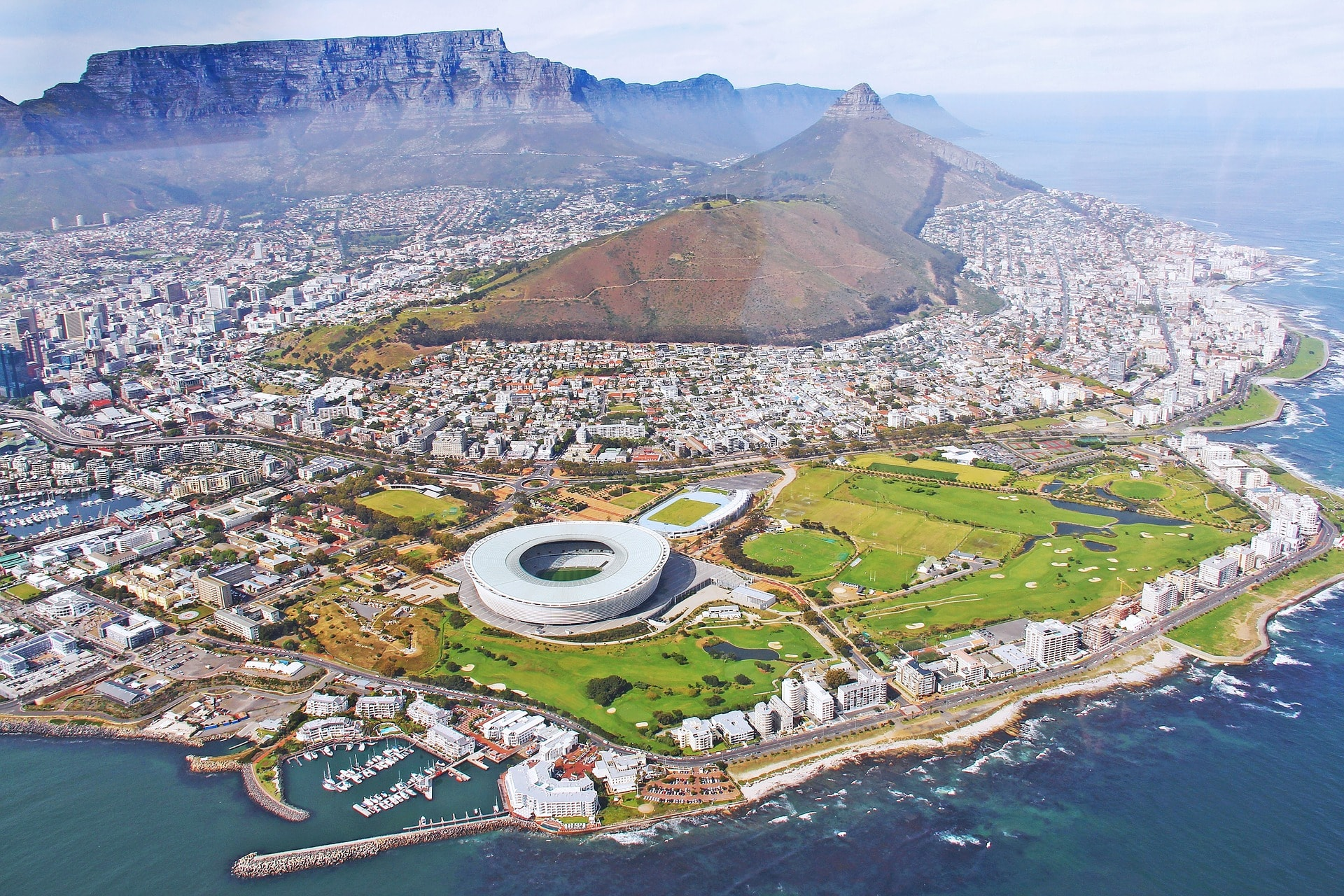 Cape Town, South Africa (best shopping city)