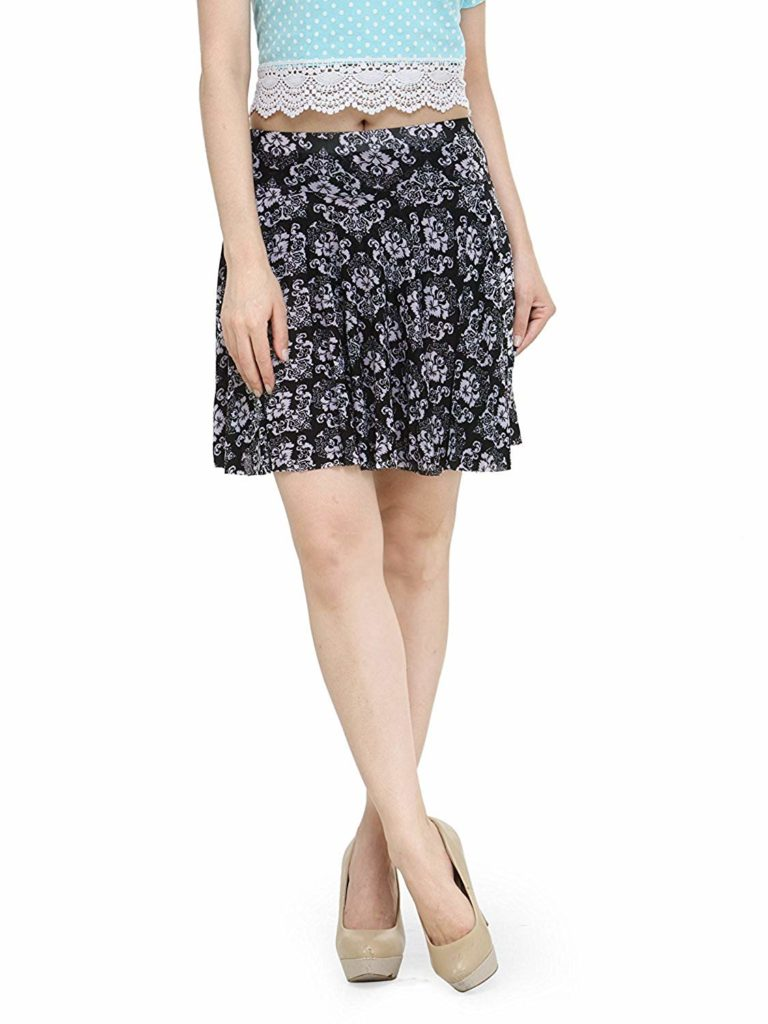 Vbirds Women's Printed Short Skirts